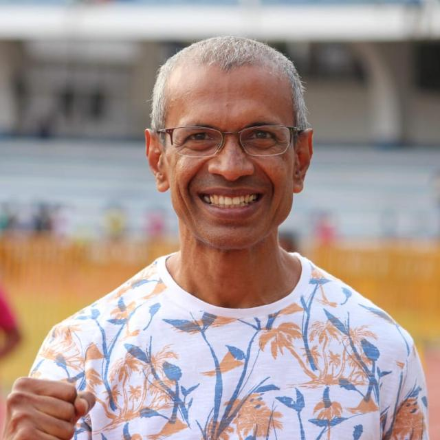 Indian Running Day Mentor Thomas Bobby Philip